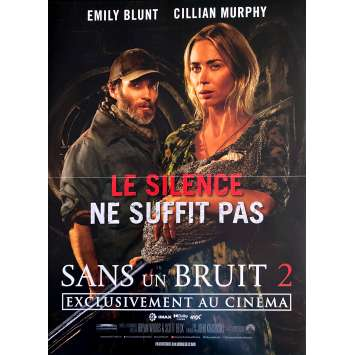 SANS UN BRUIT 2 Affiche de film- 40x60 cm. - 2020 - Emily Blunt, John Krasinski