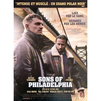 BROTHERS OF BLOOD Original Movie Poster- 15x21 in. - 2020 - Jérémie Guez, Matthias Schoenaerts