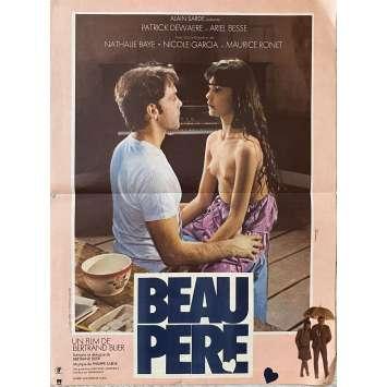 BEAU PERE Original Movie Poster- 15x21 in. - 1981 - Bertrand Blier, Patrick Dewaere