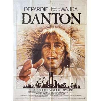 DANTON Affiche de film- 120x160 cm. - 1984 - Gérard Depardieu, Andrzej Wajda