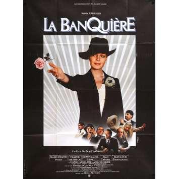 THE LADY BANKER Original Movie Poster- 47x63 in. - 1980 - Francis Girod, Romy Schneider