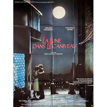 LA LUNE DANS LE CANIVEAU Affiche de film- 120x160 cm. - 1983 - Gérard Depardieu, Jean-Jacques Beineix