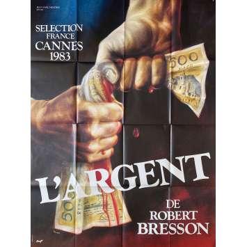 L'ARGENT Original Movie Poster- 47x63 in. - 1983 - Robert Bresson, Christian Patey