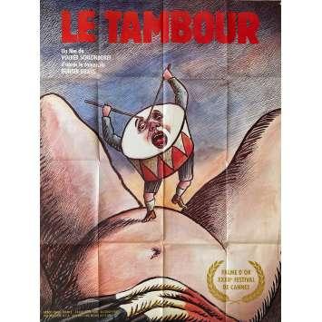 LE TAMBOUR Affiche de film- 120x160 cm. - 1979 - David Bennent, Volker Schlöndorff