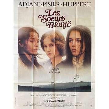 LES SŒURS BRONTE Affiche de film- 120x160 cm. - 1979 - Isabelle Adjani, Isabelle Huppert, André Téchiné