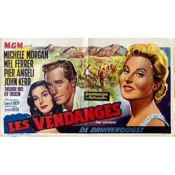 LES VENDANGES Affiche de film- 35x55 cm. - 1957 - Mel Ferrer, Jeffrey Hayden