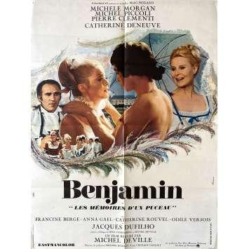 MON ONCLE BENJAMIN Affiche de film- 60x80 cm. - 1969 - Jacques Brel, Edouard Molinaro