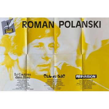 ROMAN POLANSKI Affiche de film- 80x120 cm. - 1970 - 0, 0