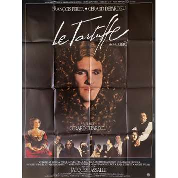 TARTUFFE Affiche de film- 120x160 cm. - 1984 - François Perrier, Gérard Depardieu