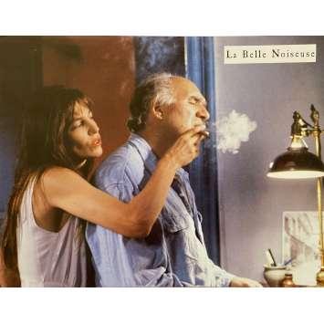 LA BELLE NOISEUSE Original Lobby Card N02 - 9x12 in. - 1991 - Jacques Rivette, Emmanuelle Beart