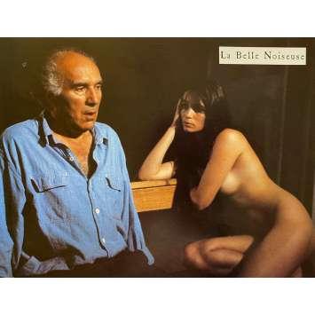 LA BELLE NOISEUSE Original Lobby Card N01 - 9x12 in. - 1991 - Jacques Rivette, Emmanuelle Beart