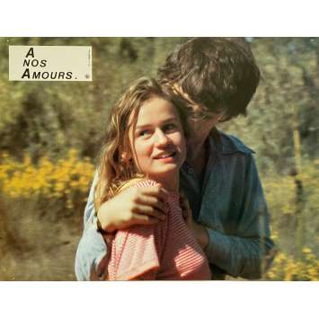 A NOS AMOURS Original Lobby Card N07 - 9x12 in. - 1983 - Maurice Pialat, Sandrine Bonnaire