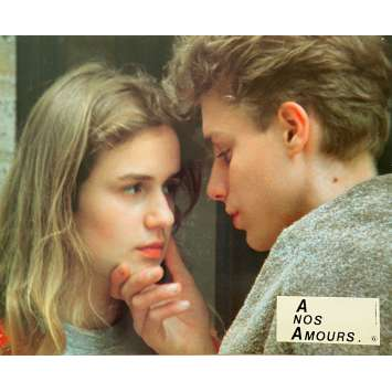 A NOS AMOURS Original Lobby Card N06 - 9x12 in. - 1983 - Maurice Pialat, Sandrine Bonnaire