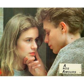 A NOS AMOURS Photo de film N06 - 21x30 cm. - 1983 - Sandrine Bonnaire, Maurice Pialat