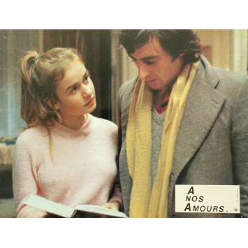 A NOS AMOURS Original Lobby Card N05 - 9x12 in. - 1983 - Maurice Pialat, Sandrine Bonnaire