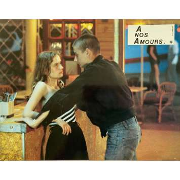 A NOS AMOURS Original Lobby Card N03 - 9x12 in. - 1983 - Maurice Pialat, Sandrine Bonnaire