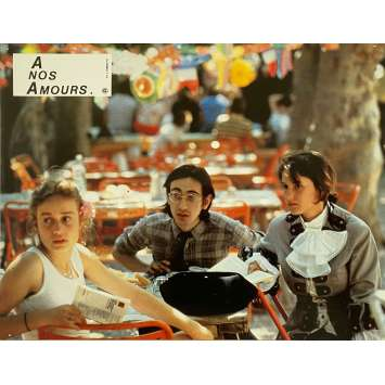 A NOS AMOURS Original Lobby Card N02 - 9x12 in. - 1983 - Maurice Pialat, Sandrine Bonnaire