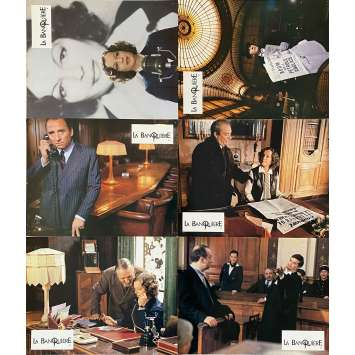 THE LADY BANKER Original Lobby Cards- 9x12 in. - 1980 - Francis Girod, Romy Schneider
