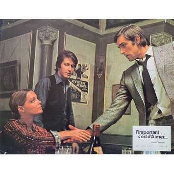 L'IMPORTANT C'EST D'AIMER Original Lobby Card N01 - 9x12 in. - 1975 - Andrzej Zulawski, Romy Schneider