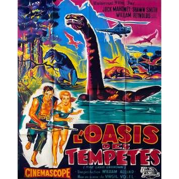 THE LAND UNKNOWN Original Movie Poster Litho - 47x63 in. - 1957 - Virgil W. Vogel, Jock Mahoney