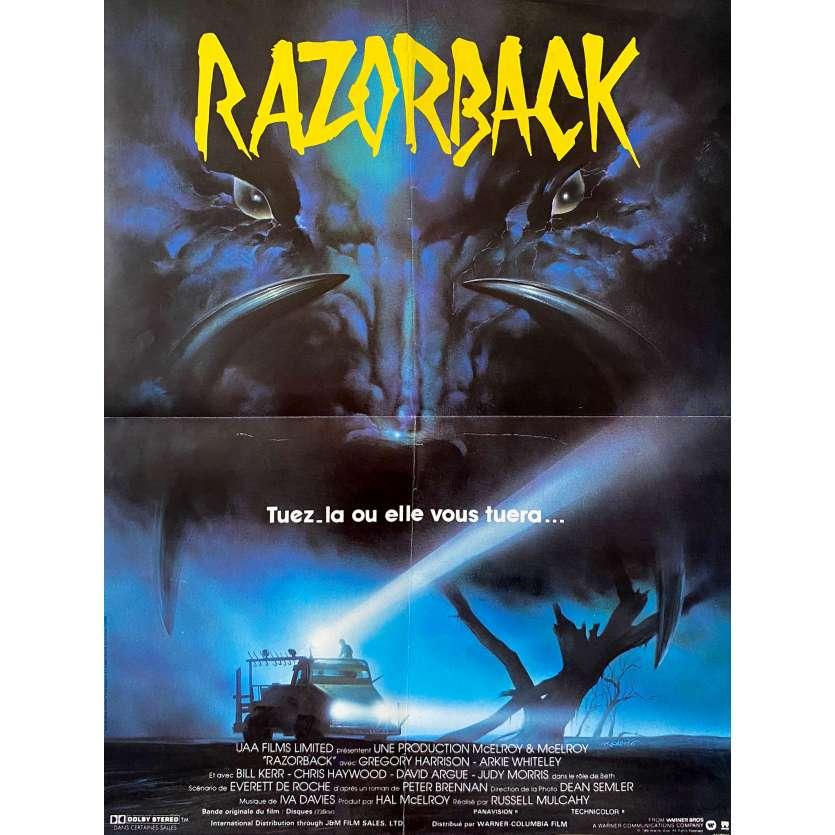 RAZORBACK Affiche de film - 40x60 cm - 1984 - Russel Mulcahy