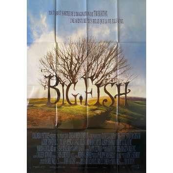BIG FISH Movie Poster47x63 in.- 2003 - Tim Burton, Ewan McGregor