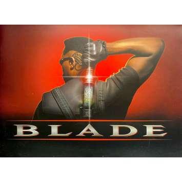 BLADE Dossier de presse- 15x15 cm. - 1998 - Wesley Snipes, Stephen Norrington
