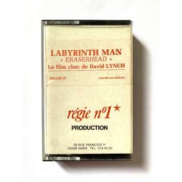 ERASERHEAD Rare Cassette K7 Audio Promo - 1977 - David Lynch, Labyrinth Man