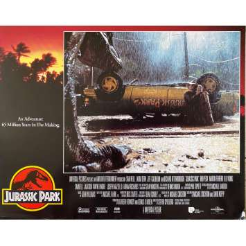 JURASSIC PARK Original Lobby Card- 11x14 in. - 1993 - Steven Spielberg, Sam Neil