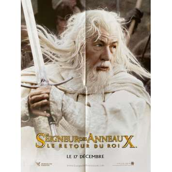 LORD OF THE RING - THE RETURN OF THE KING Original Movie Poster GANDALF. - 15x21 in. - 2003 - Peter Jackson