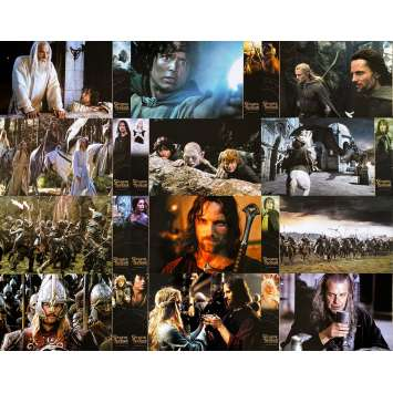 LORD OF THE RING - THE RETURN OF THE KING Original Lobby Cards x12 - 6,5x10 in. - 2003 - Peter Jackson