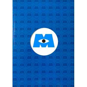 MONSTERS INC Original Pressbook 56 pages. - 9x12 in. - 2001 - Pixar, John Goodman