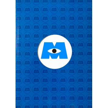 MONSTRES ET CIE Dossier de presse 56 pages. - 21x30 cm. - 2001 - John Goodman, Pixar