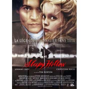 SLEEPY HOLLOW Original Movie Poster- 47x63 in. - 1999 - Tim Burton, Johnny Depp