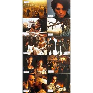 SLEEPY HOLLOW Original Lobby Cards x10 + 3 Slides - 9x12 in. - 1999 - Tim Burton, Johnny Depp