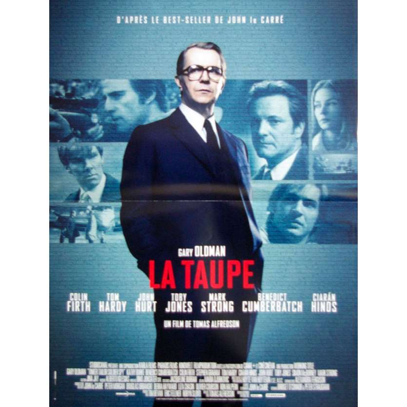 TINKER TAILOR TAILOR SPY French Movie Poster - 2011 - Gary Oldman