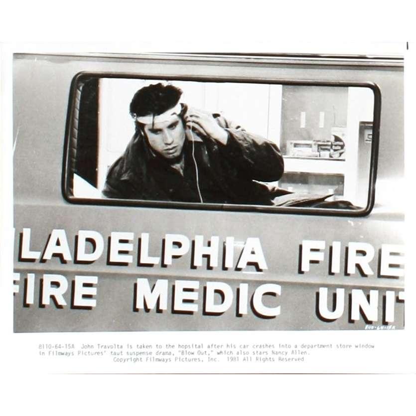 BLOW OUT Photo de presse N5 20x25 - 1981 - John Travolta, Brian de Palma