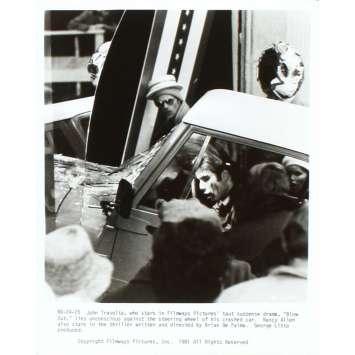 BLOW OUT Photo de presse N6 20x25 - 1981 - John Travolta, Brian de Palma