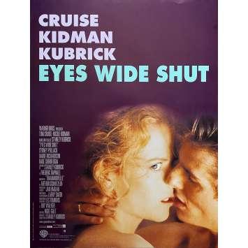EYES WIDE SHUT French Movie Poster15x21 - 1998 - Stanley Kubrick, Nicole Kidman