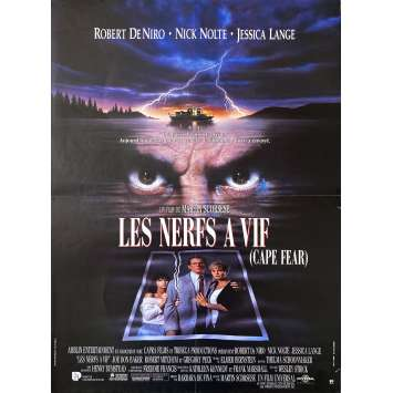 CAPE FEAR Original Movie Poster- 15x21 in. - 1995 - Martin Scorsese, Robert de Niro