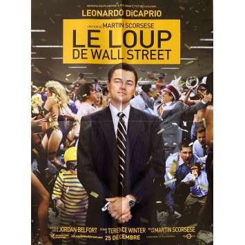 THE WOLF OF WALL STREET Original Movie Poster- 15x21 in. - 2013 - Martin Scorsese, Leonardo DiCaprio