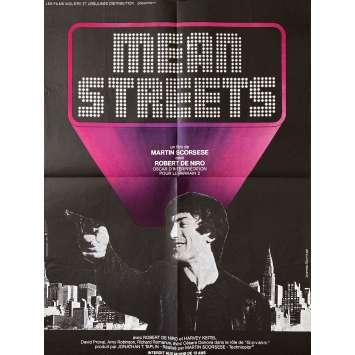 MEAN STREETS Affiche de film- 60x80 cm. - 1973 - Robert de Niro, Martin Scorsese