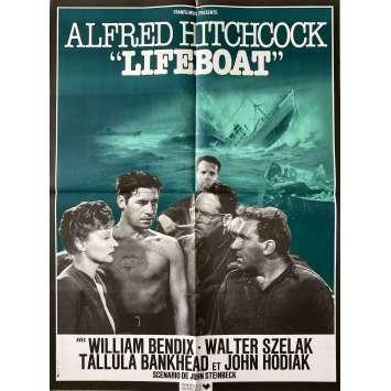 LIFEBOAT Affiche de film- 60x80 cm. - R1980 - Tallulah Bankhead, Alfred Hitchcock