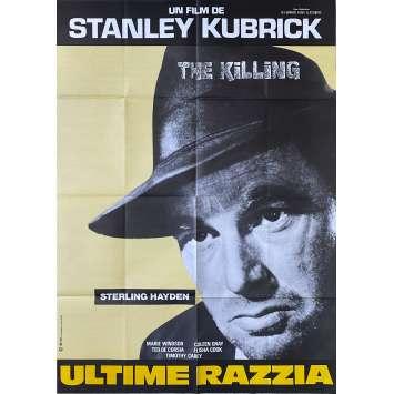 THE KILLING Original Movie Poster- 32x47 in. - R1980 - Stanley Kubrick, Sterling Hayden