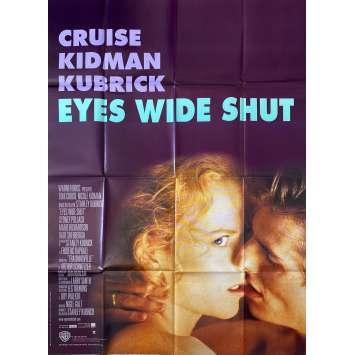 EYES WIDE SHUT Original Movie Poster- 47x63 in. - 1999 - Stanley Kubrick, Tom Cruise, Nicole Kidman