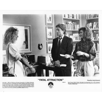 ATTRACTION FATALE Photo de presse 5038-10 - 20x25 cm. - 1987 - Michael Douglas, Glenn Close, Adrian Lyne