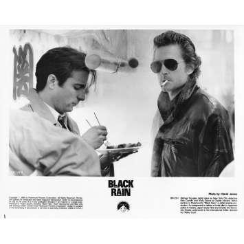 BLACK RAIN Photo de presse 14A - 20x25 cm. - 1989 - Michael Douglas, Ridley Scott