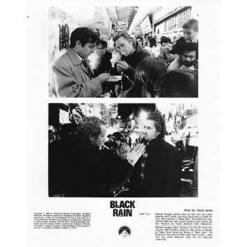 BLACK RAIN Photo de presse CS6 - 20x25 cm. - 1989 - Michael Douglas, Ridley Scott