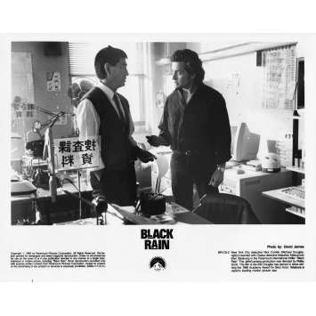 BLACK RAIN Photo de presse N34 - 20x25 cm. - 1989 - Michael Douglas, Ridley Scott