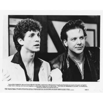 LA PAPE DE GREENWICH VILLAGE Photo de presse 5502-2 - 20x25 cm. - 1984 - Mickey Rourke, Stuart Rosenberg